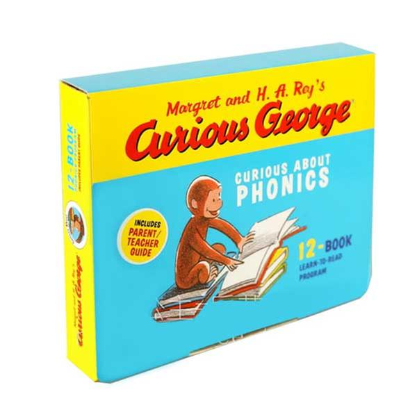 (원서)Curious George : Crurious About Phonics 12 Books Boxed Set (Paperback)(CD없음)