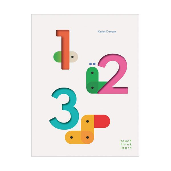 (원서)Touch Think Learn : 123 (Board book)
