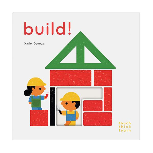 (원서)Touch Think Learn : Build! (Board book)