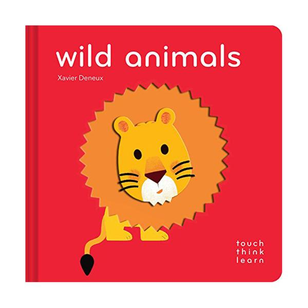 (원서)Touch Think Learn : Wild Animals (Board book)
