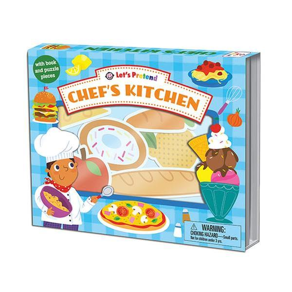 [원서] Let's Pretend : Chef's Kitchen (Board book)