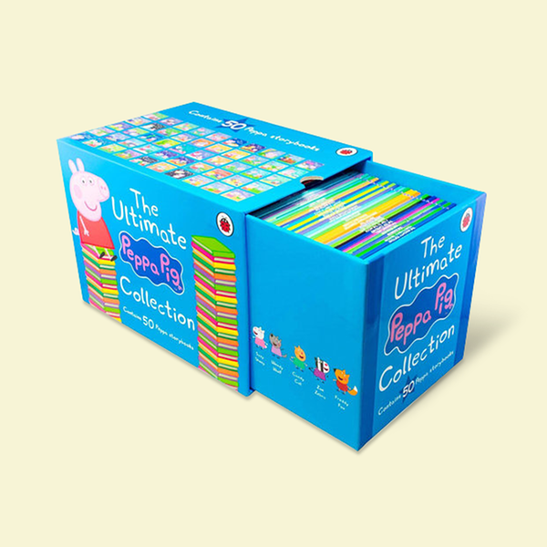 [원서] The Ultimate Peppa Pig Collection : 50 Book Box Set (Paperback, 영국판, 정품/국내배송)