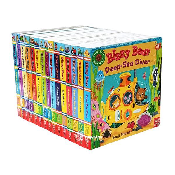 [원서] 비지베어 보드북 15종 세트(CD없음) Bizzy Bear