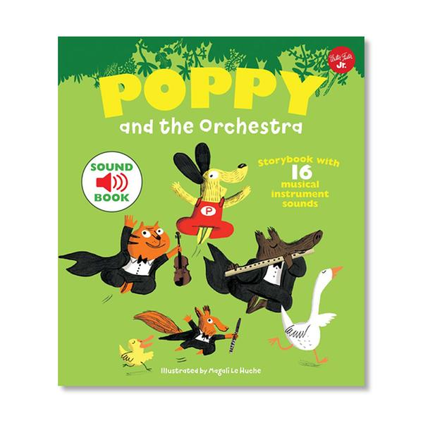 [원서] Poppy and the Orchestra : With 16 musical sounds! (Hardcover)