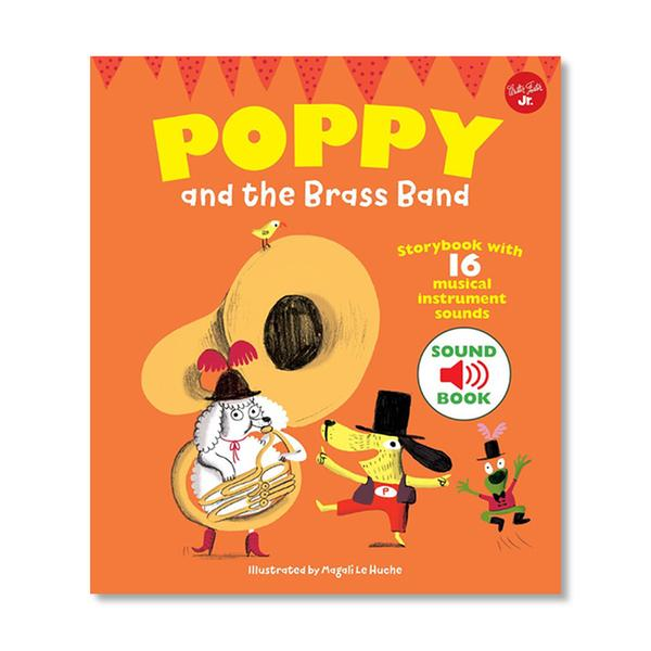 (원서)Poppy and the Brass Band : With 16 musical sounds! (Hardcover, 영국판)