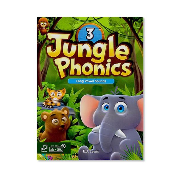 [웅진컴퍼스]  정글파닉스 시리즈 Jungle Phonics 3 [ Paperback, Student Book + MP3 CD including ]