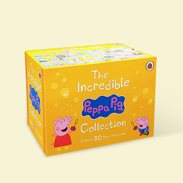 (원서)The Incredible Peppa Pig Collection : 픽쳐북 50종 Yellow Box Set (Paperback, 영국판) (CD없음)