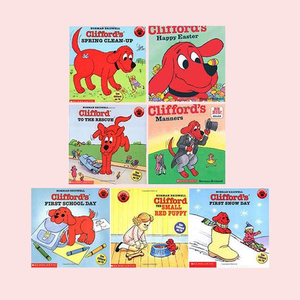 [원서] Clifford Picture book 페이퍼백 7종 B세트