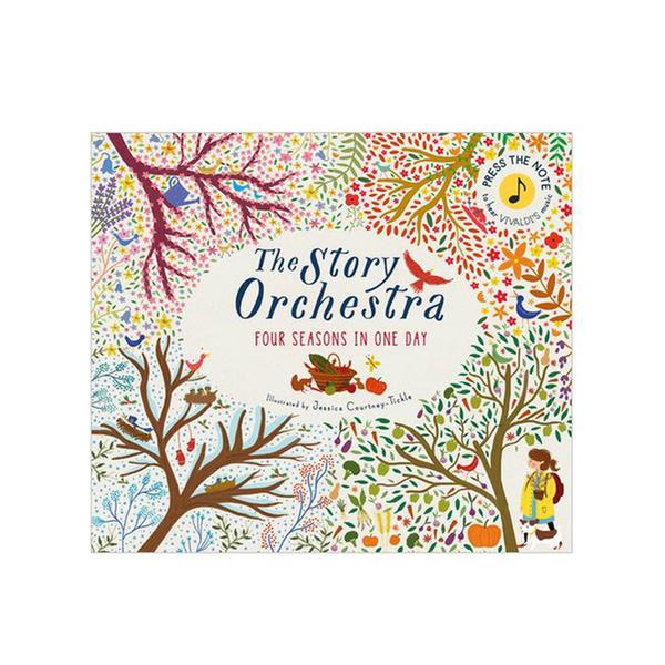 [원서] The Story Orchestra: Four Seasons in One Day (Hardcover, Sound Book)