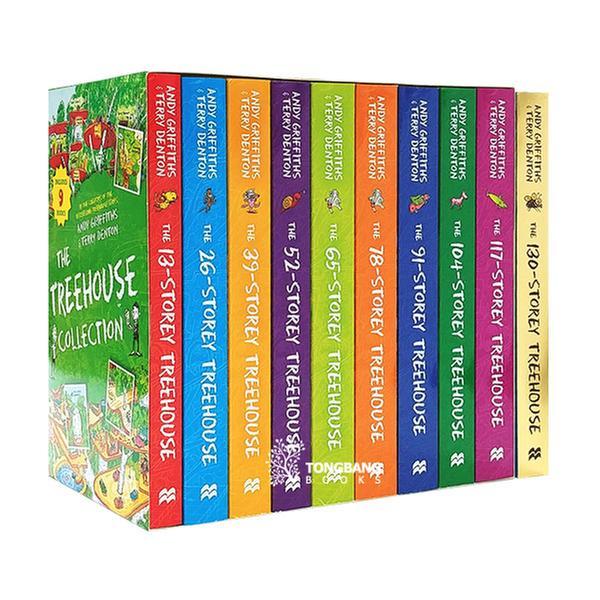 (원서)나무집 13-130층 10종 세트 (Paperback, 영국판) (CD미포함)