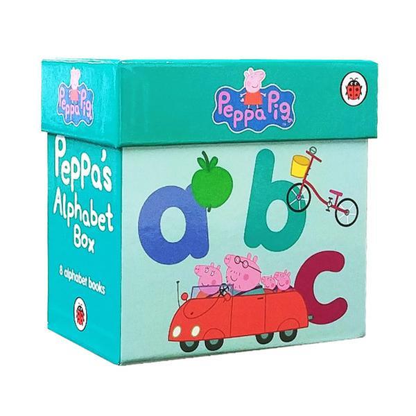 (원서) Peppa Pig : Peppa's Alphabet 보드북 8종 Box Set (Board Book, 영국판) (CD없음)
