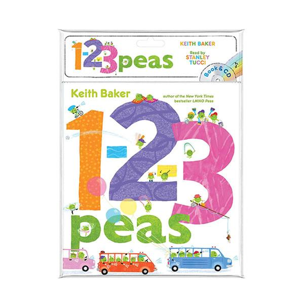 (원서) The Peas Series : 1-2-3 Peas (Book & CD)