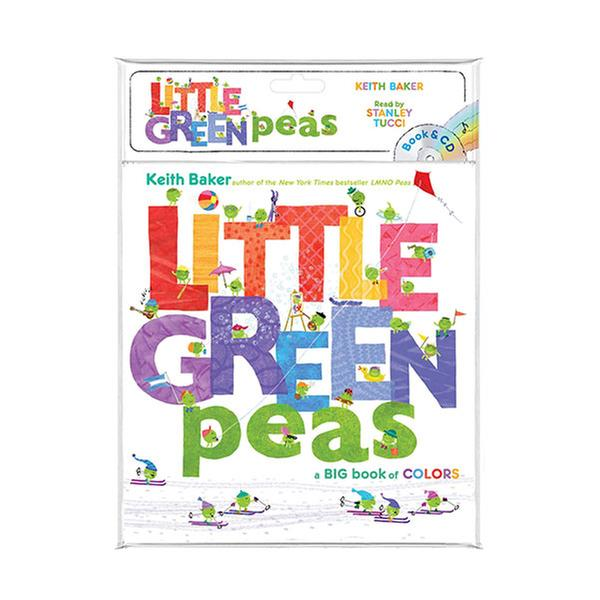 (원서) The Peas Series : Little Green Peas (Book & CD)