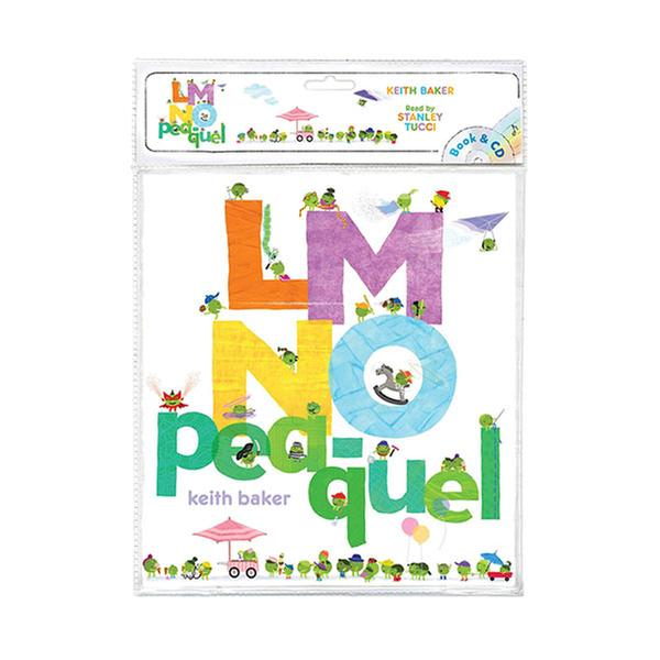 (원서) The Peas Series : LMNO Pea-quel (Book & CD)