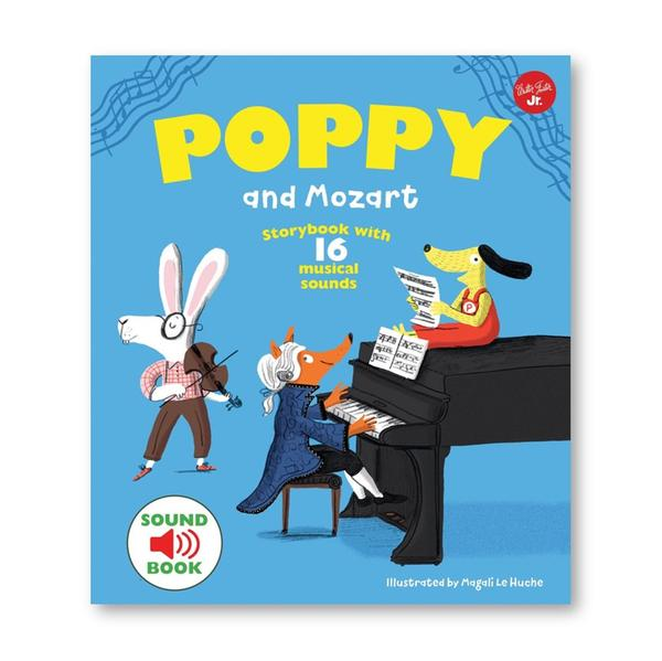 (원서)Poppy and Mozart : With 16 musical Sounds! (Hardcover, 영국판)