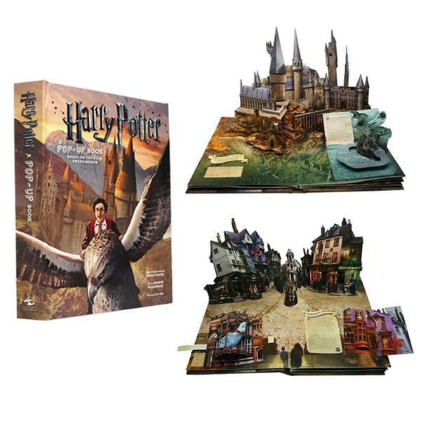 (원서) Harry Potter : A Pop-Up Book : Based on the Film Phenomenon (Hardcover)