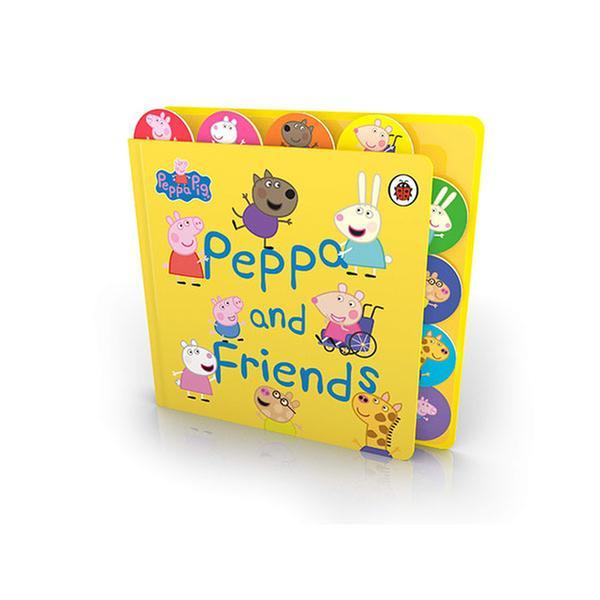 (원서)Peppa Pig : Peppa and Friends (Board Book, 영국판)