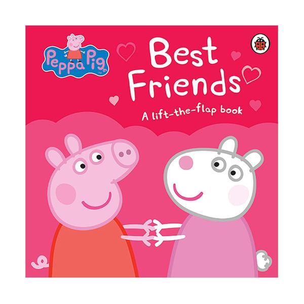 (원서)Peppa Pig : Best Friends : A Lift-the-Flap Book (Board book, 영국판)