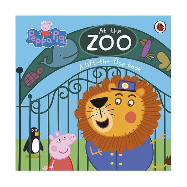 (원서)Peppa Pig : At the Zoo : A Lift-the-Flap Book (Board book, 영국판)