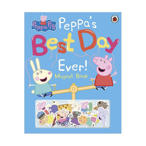 (원서)Peppa Pig : Peppa's Best Day Ever Magnet Book (Hardcover, 영국판)