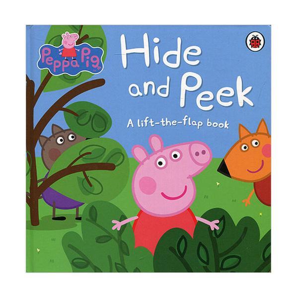 (원서)Peppa Pig : Hide and Peek : A Lift-the-Flap Book (Board book, 영국판)