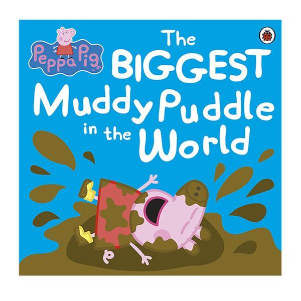 (원서)Peppa Pig : The Biggest Muddy Puddle in the World Picture Boo (Paperback)