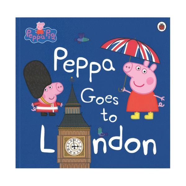 (원서)Peppa Goes To London (Paperback)