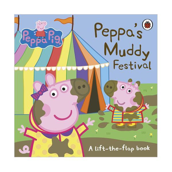 (원서)Peppa Pig : Peppa's Muddy Festival (Board book, 영국판)