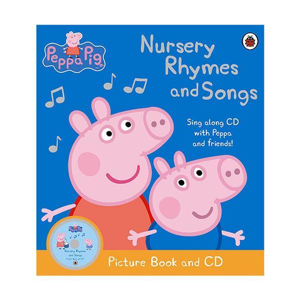 (원서)Peppa Pig : Nursery Rhymes and Songs (Paperback Book & CD)