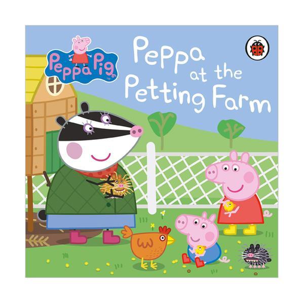 (원서)Peppa Pig : Peppa at the Petting Farm (Board book, 영국판)