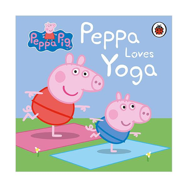 (원서)Peppa Pig : Peppa Loves Yoga (Board book, 영국판)