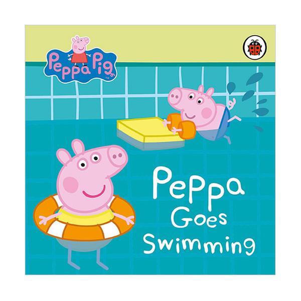 (원서)Peppa Pig : Peppa Goes Swimming (Board book, 영국판)