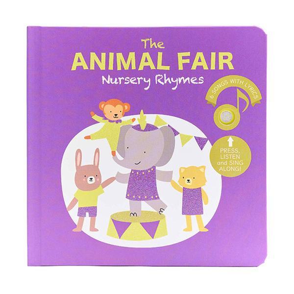 The Animal Fair Nursery Rhymes (Board book, Sound book)