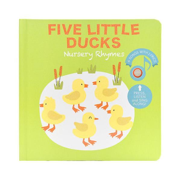 (원서)Five Little Ducks Nursery Rhymes (Board book, Sound book)
