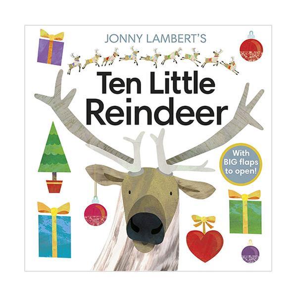 (원서)Jonny Lambert's Ten Little Reindeer (Board book, 영국판)