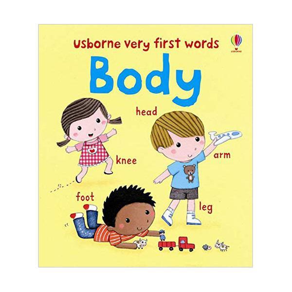 (원서)Usborne Very First Words : My Body (Board book, 영국판)