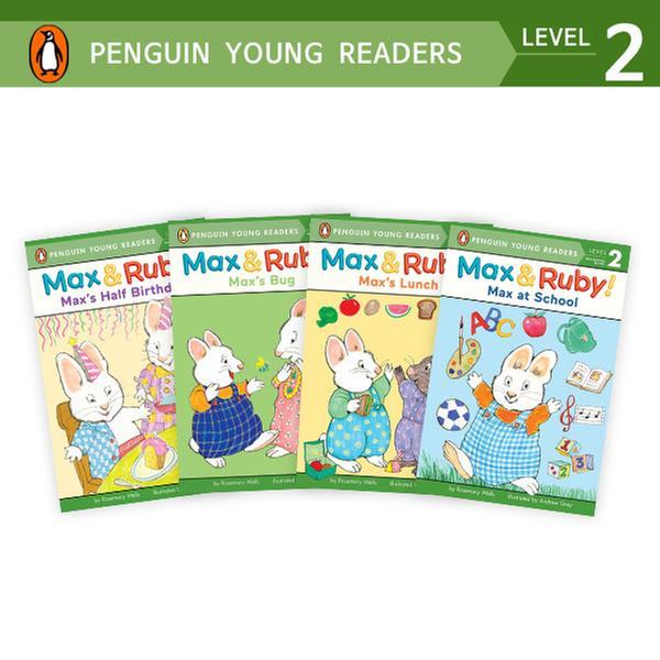 (원서)Penguin Young Readers Level 2 : Max & Ruby 리더스 4종 세트 (Paperback)(CD없음)