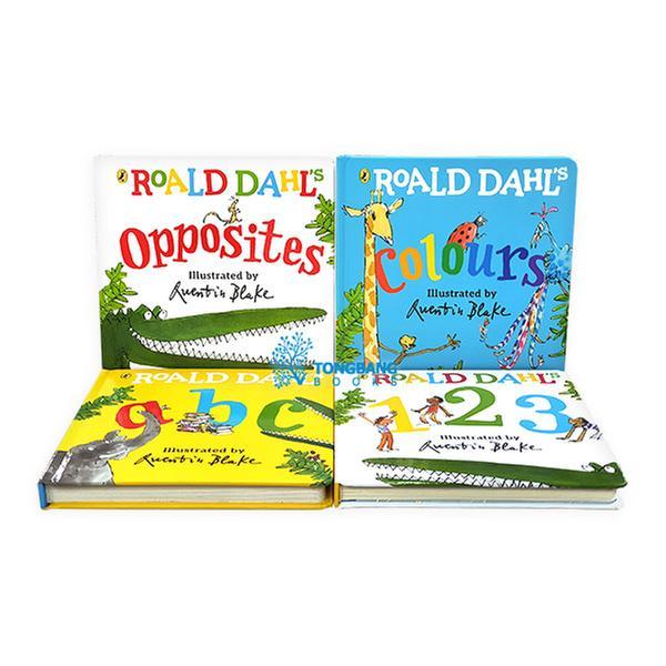 (원서)Roald Dahl 작가 플랩 보드북 4종 세트 (영국판)(CD없음)