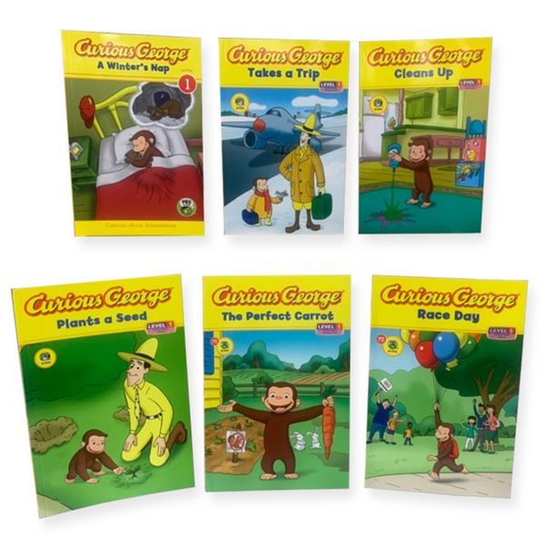 [원서] Curious George Early Readers Level1_ 6종세트