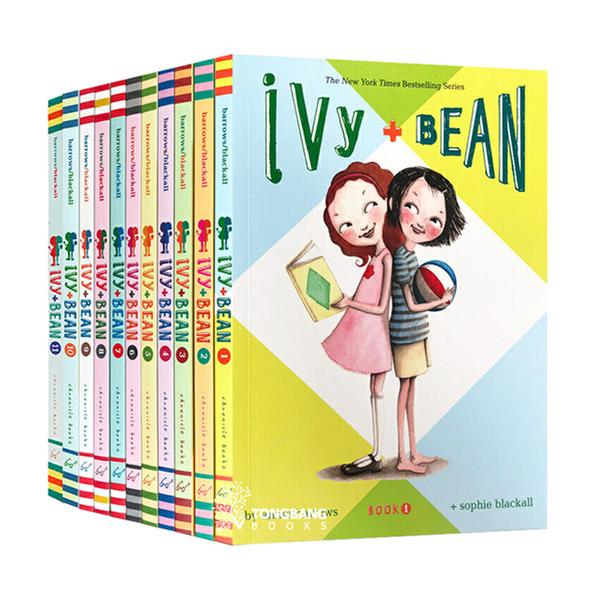 (원서) Ivy and Bean #01-11 챕터북 세트 (Paperback) (CD없음)