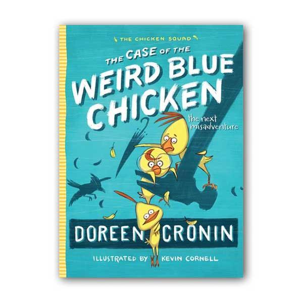 (원서) The Chicken Squad #02 : The Case of the Weird Blue Chicken (Paperback)