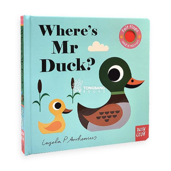 (원서) Where's Mr Duck? : Felt Flap Book (Board book, 영국판)