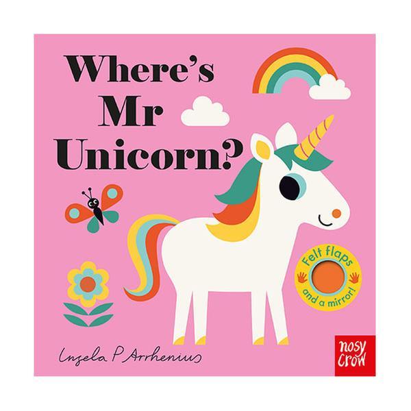 (원서) Where's Mr Unicorn? : Felt Flap Book (Board Book, 영국판)