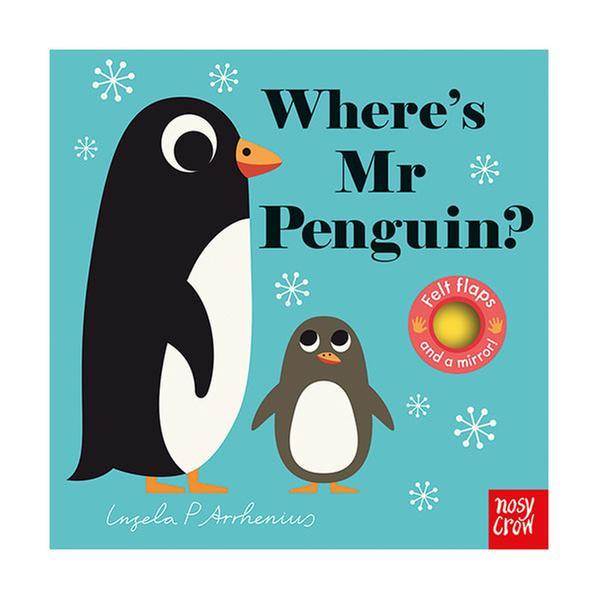 (원서) Where's Mr Penguin? : Felt Flap Book (Board Book, 영국판)