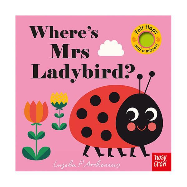 (원서) Where's Mrs Ladybird? : Felt Flap Book (Board book, 영국판)