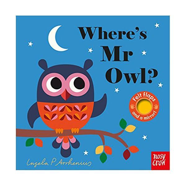 (원서) Where's Mr Owl? : Felt Flap Book (Board book, 영국판)