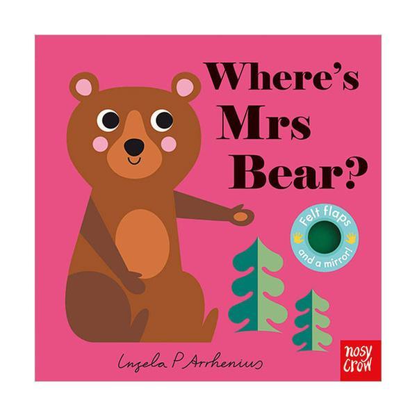 (원서) Where's Mrs Bear? : Felt Flap Book (Board book, 영국판)