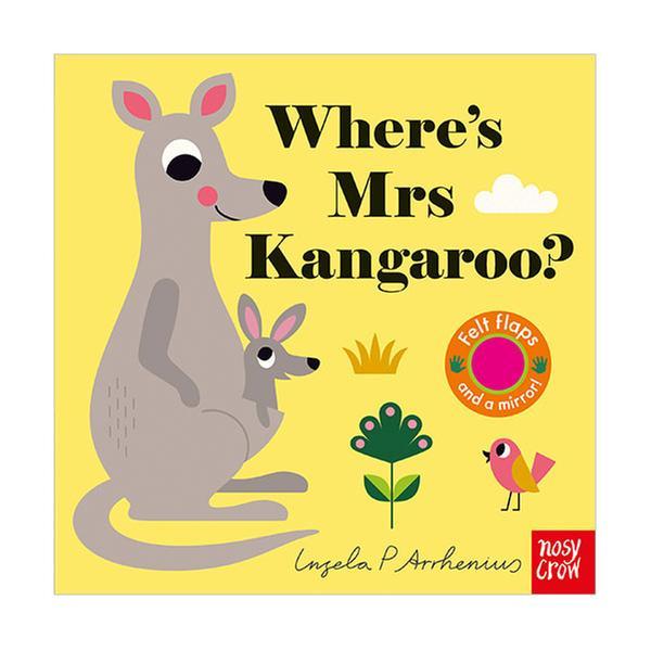 (원서) Where's Mrs Kangaroo? : Felt Flap Book (Board book, 영국판)