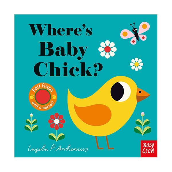 (원서) Where's Baby Chick? : Felt Flap Book (Board book, 영국판)