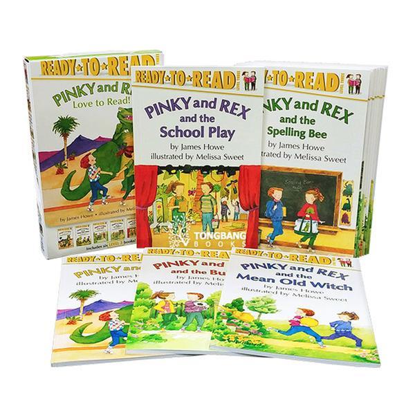 (원서) Ready to Read Level 3 : Pinky and Rex 리더스 12종 세트 (Paperback)(CD없음)